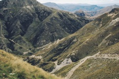 4WD road near Lake Hawea, Otago