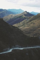 Skippers Canyon, one of the world's most dangerous roads, Queenstown