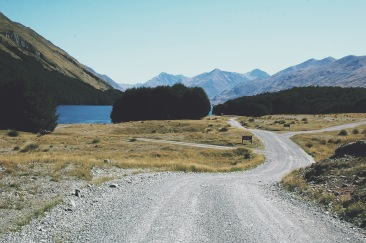 Dirt road, Mavora Lakes, Fiorland